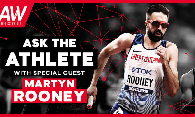 Ask The Athlete with Martyn Rooney