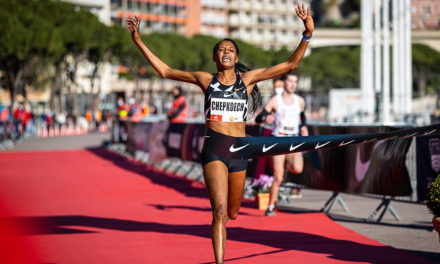 Beatrice Chepkoech breaks world 5km record in Monaco