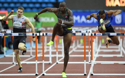 Grant Holloway breaks Colin Jackson's world 60m hurdles record
