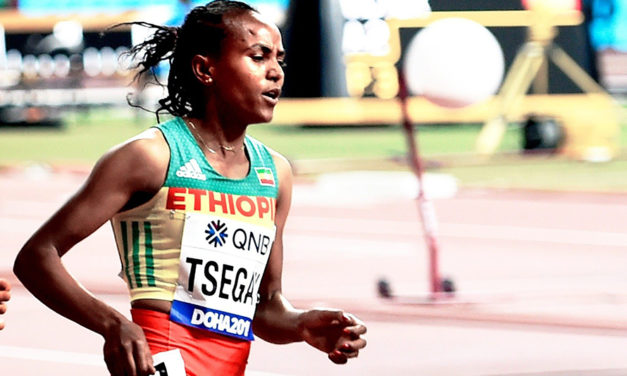 Gudaf Tsegay smashes world indoor 1500m record in Liévin