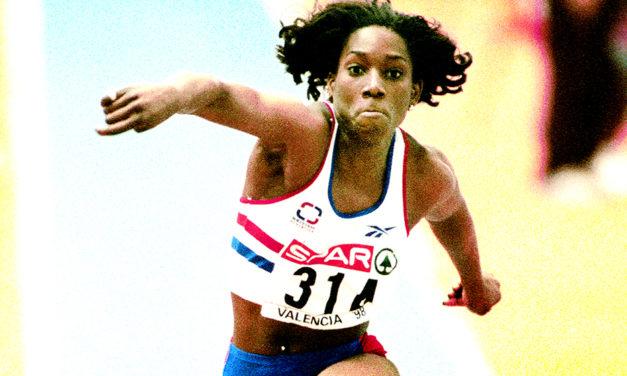 Ashia Hansen's world record remembered