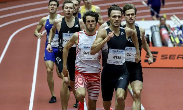Jamie Webb among winners in Ostrava
