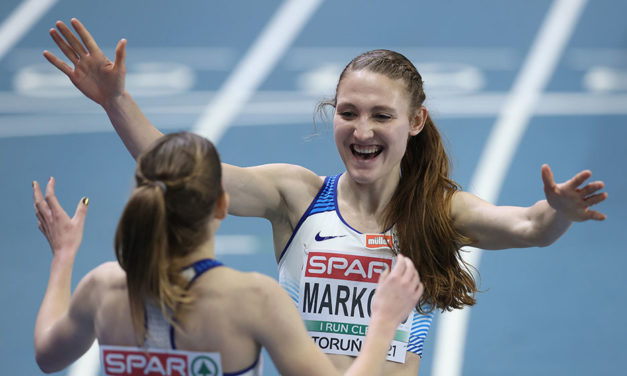 Markovc strikes 3000m European Indoor gold