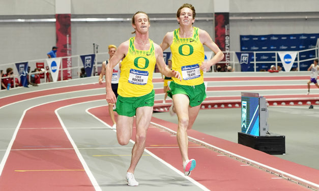 Cole Hocker storms to golden double at NCAA Indoors