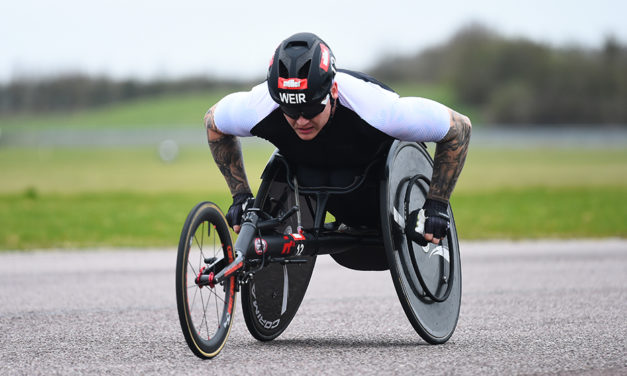 David Weir and Shelly Woods win at Thruxton