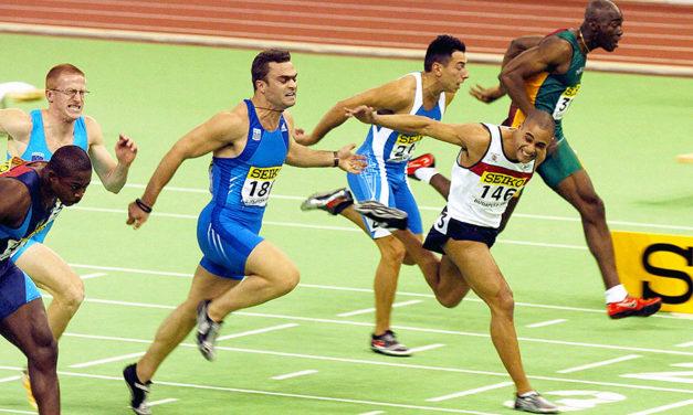 Jason Gardener reveals miracle run to win world indoor gold