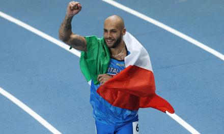Jacob's cracker in men's 60m as Mayer heads heptathlon