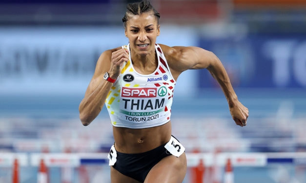 Nafi Thiam in control in Euro Indoors pentathlon