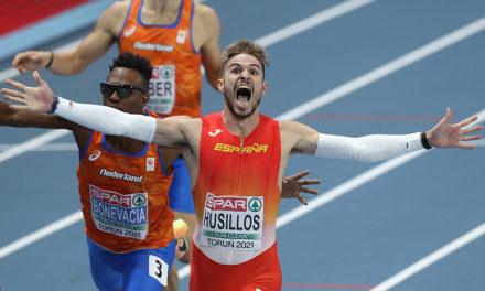 Oscar winning performance in 400m from Husillos