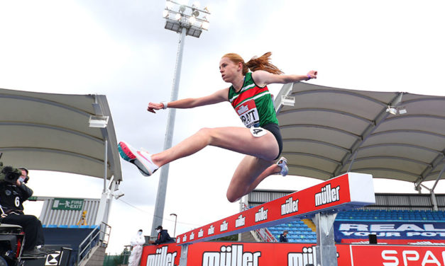 From Manchester to Tokyo is Aimee Pratt's goal