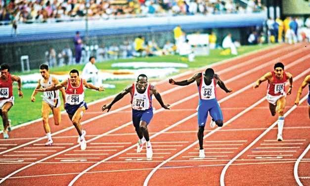 Sprint legend John Regis recalls his greatest race