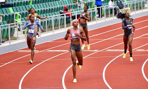 World lead for Shaunae Miller-Uibo in Eugene