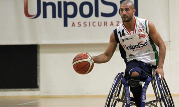 Pro Para Athlete teaches dribbling, shooting and diversity to Italian students