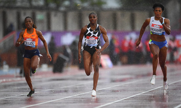 Outstanding Asher-Smith takes 100m glory in Gateshead