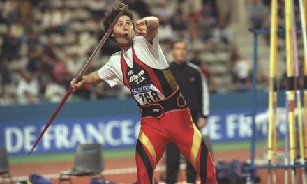 Is Jan Zelezny's world javelin record on borrowed time?