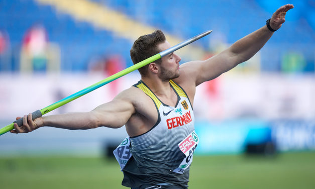 The art of javelin throwing