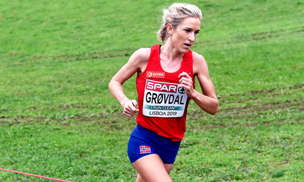 Karoline Grøvdal runs 14:39 5km in Norway