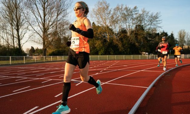 Samantha Amend on how she 'just keeps running'