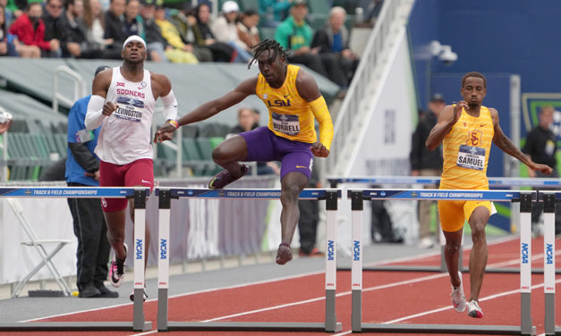 Fast times in NCAA Championships