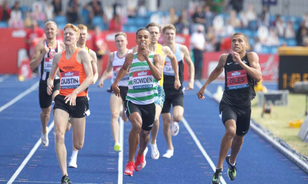 Elliot Giles wins brilliant 800m battle as Oliver Dustin also makes it to Tokyo
