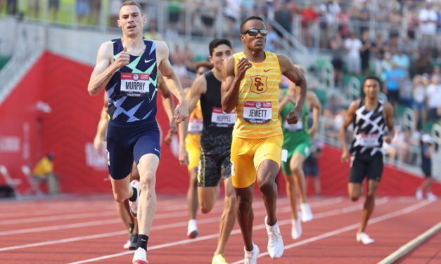 Donavan Brazier out of Tokyo in US Team Trials shock