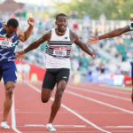 Trayvon Bromell in 100m win at US Team Trials