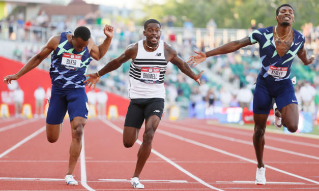 Trayvon Bromell heads strong men's 100m line-up in Gateshead