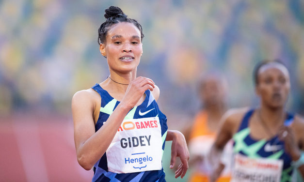 World 10,000m record falls again, this time to Letesenbet Gidey
