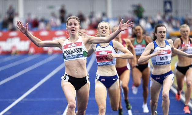 Keely Hodgkinson: how they train