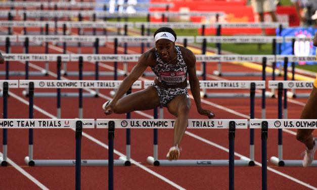 "Keni Harrison: ""I haven't run my fastest time yet. I'm ready to challenge myself"""