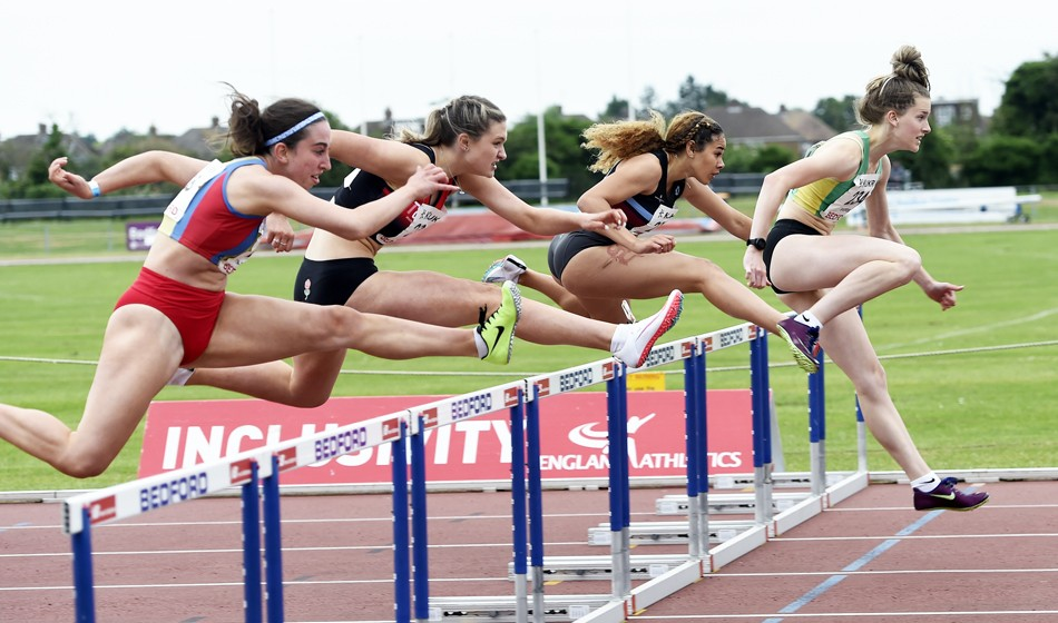 Young athletes battle for honours in Bedford - AW