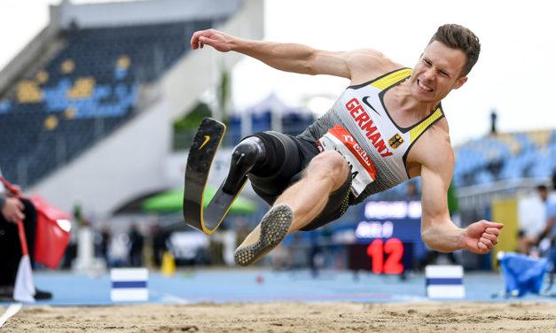 Markus Rehm soars to world long jump record
