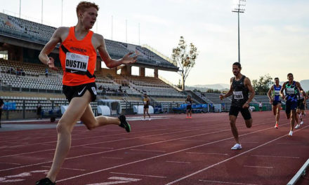 Oliver Dustin goes top of the world at 800m – weekly round-up