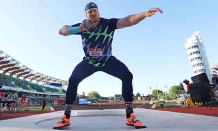 Ryan Crouser smashes shot put world record