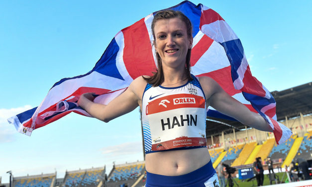Sophie Hahn leads British gold rush at Euro Para Champs