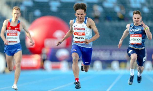 Thomas Young takes para sprint gold in Poland