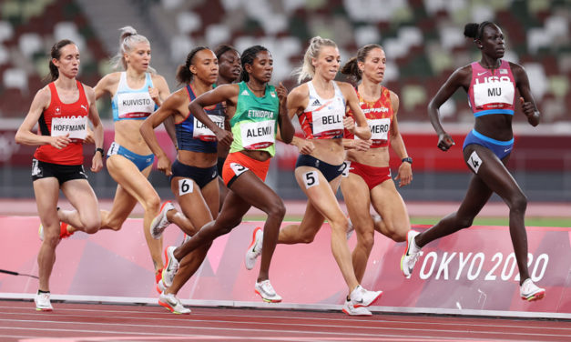 Athing Mu and a trio of Brits make women's 800m final