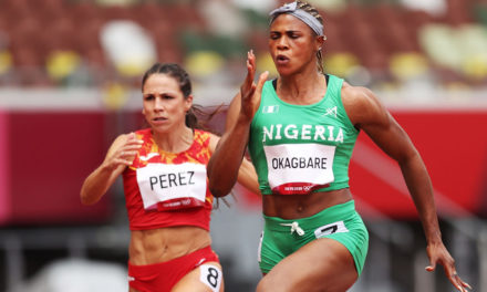 Blessing Okagbare suspended on eve of 100m semi-final