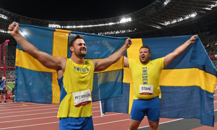 Daniel Ståhl lands historic victory for Sweden in Olympic discus