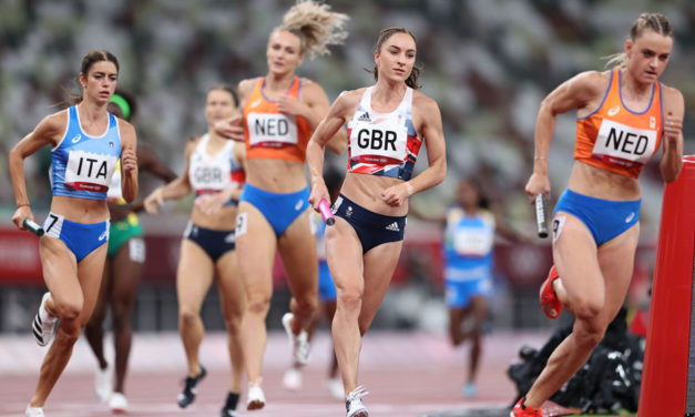 British record in mixed relay but disappointment in 5000m and shot