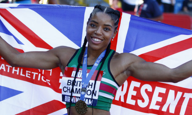 """Abigail Irozuru: """"If I didn't have my faith in God then I wouldn't be competing today"""""""