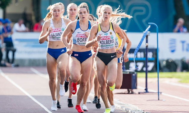 Gold for Isabelle Boffey in European U23 Champs