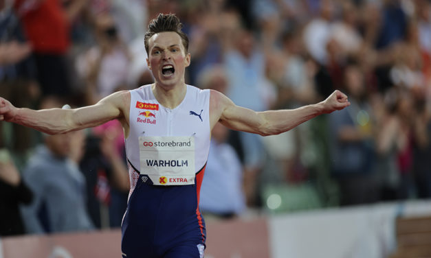 Karsten Warholm smashes 29-year-old 400m hurdles world record