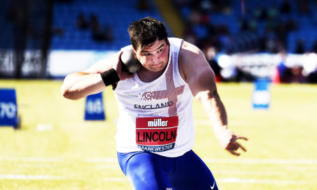 Scott Lincoln closes in on UK shot put record
