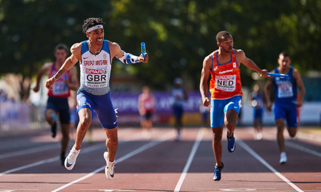 Gold rush for Britain at the European U20 Champs