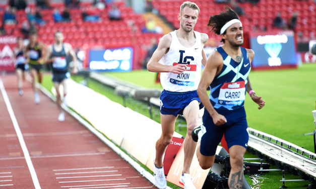 Sam Atkin grows in confidence ahead of Olympic 10,000m test