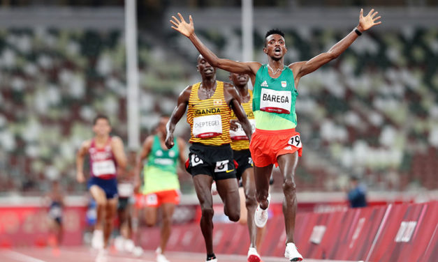 Selemon Barega strides to 10,000m Olympic title