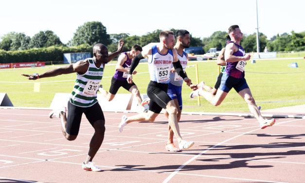 Andy Robertson, Morgan Lake and Vicky Ohuruogu star at England Champs