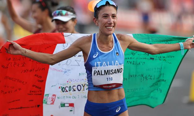Antonella Palmisano wins 20km race walk Olympic gold