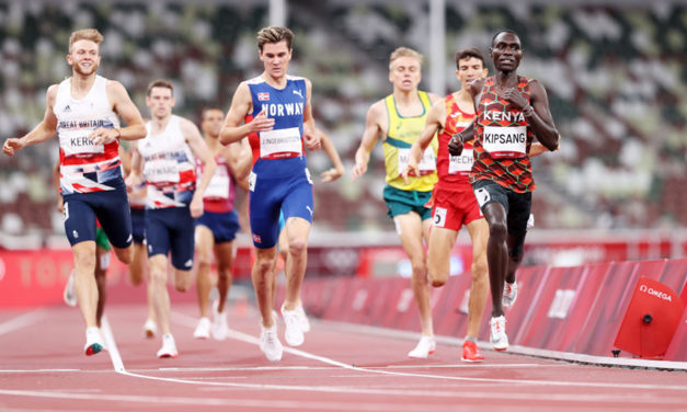 Olympic record in red-hot men's 1500m semi-finals